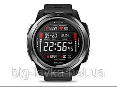 Годинник для спортсмена Zeblaze LED підсвічуванням Чорний