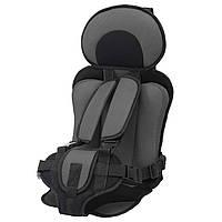 Детское бескаркасное автокресло Child Car Seat Light Black, фото 1