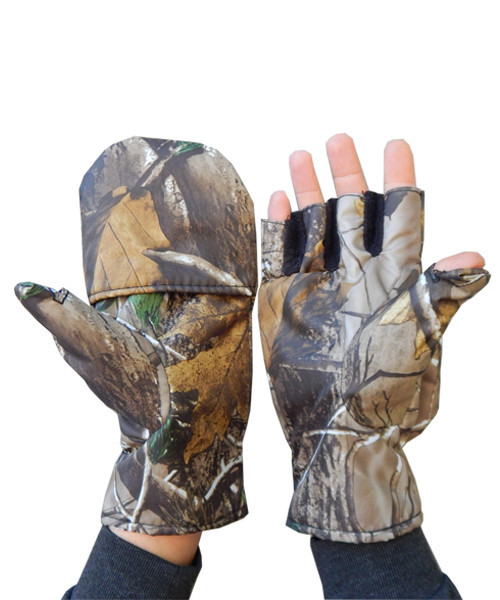 Перчатки-варежки беспалые Sky Fish Дубок, ткань оксфорд