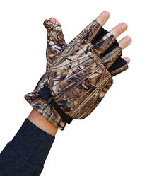 Перчатки-варежки беспалые Sky Fish Камыш, ткань оксфорд