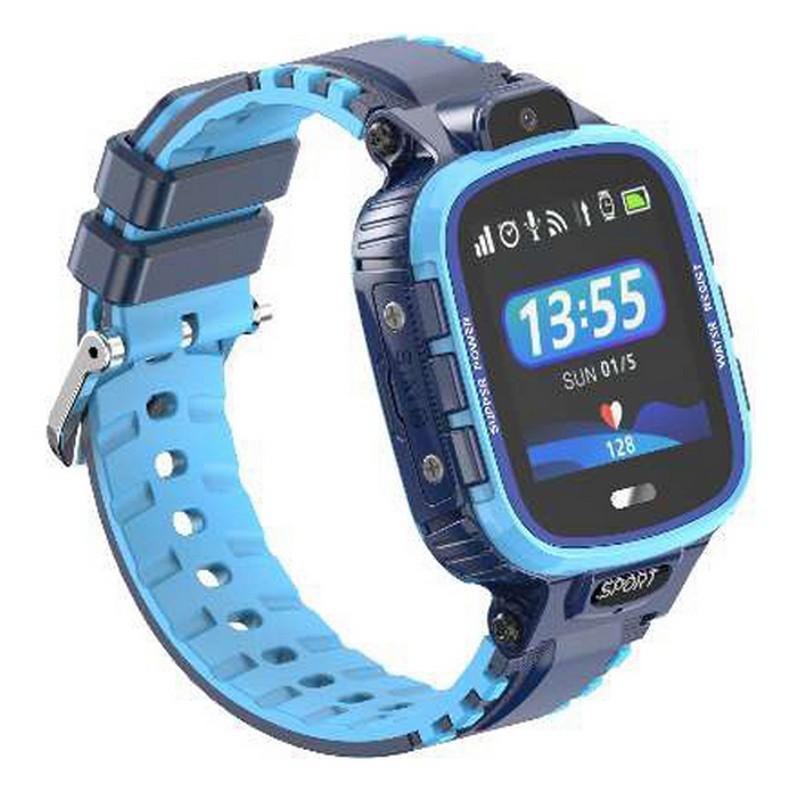 Детские умные часы с GPS трекером Gelius Pro GP-PK001 (PRO KID) Blue