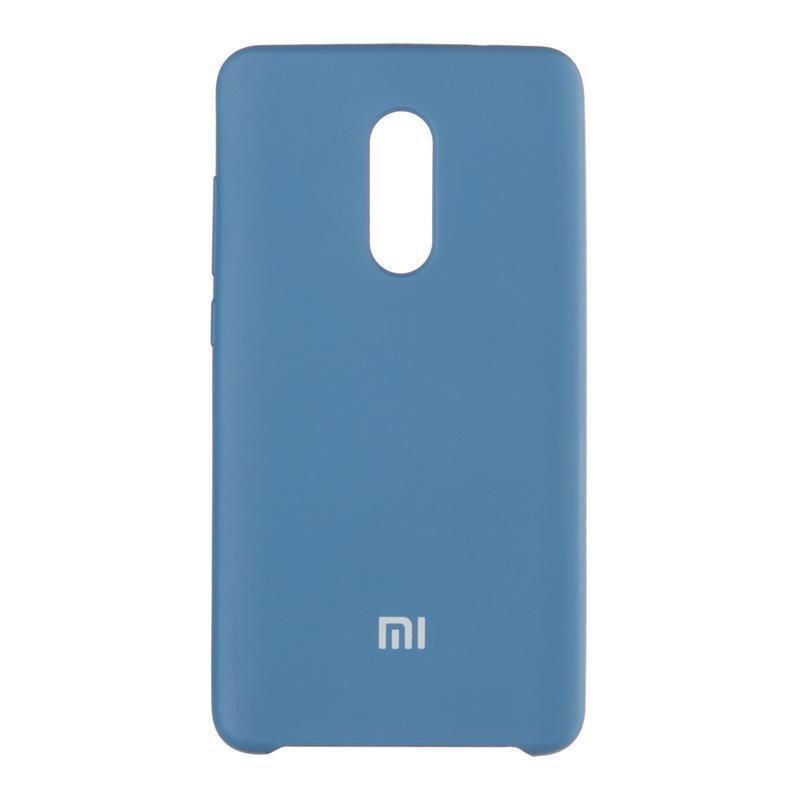 Чехол Original Soft Case для Xiaomi Redmi 5 Plus Dark Blue (20)