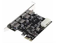 Плата розширення PCI-E в 4 порту USB 3.0