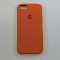Силиконовый чехол OEM Silicon Case для iPhone 7 Plus / 8 Plus, сочный персик