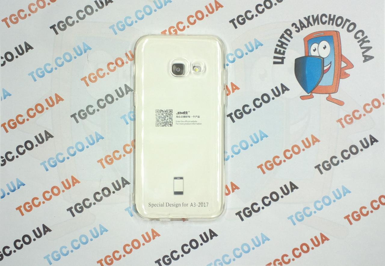 Чехол SMTT для Samsung Galaxy A320 A3 2017 - прозорий