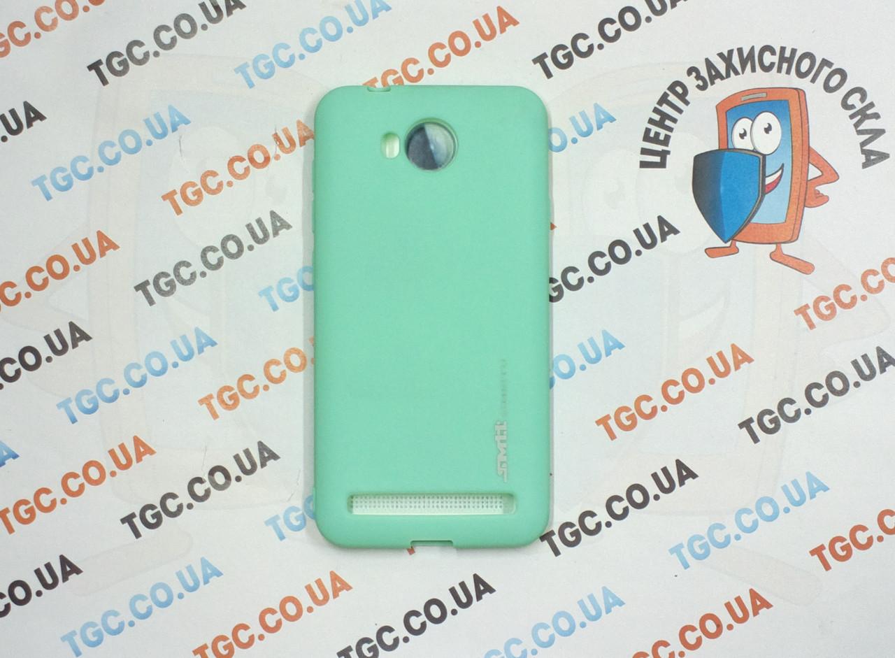 Чехол SMTT для Huawei Y3 II Бирюзовый