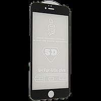 Защитное стекло 5D (монолит) для iPhone 6 Plus / 6s Plus Черный