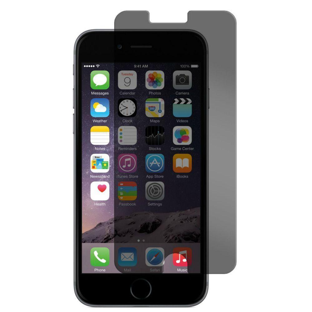 Защитное стекло Privacy tempered glass 5D для iPhone 6/6s Plus