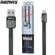 Кабель Remax Platinum RC-044i - black (1 метр, USB-lightning)