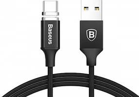 Кабель Baseus New insnap, Магнитный - black (1,2 метра, USB-Type-C)