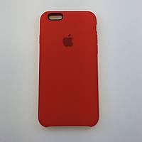 Силиконовый чехол iPhone 6/6s, темно терракотовый, copy original