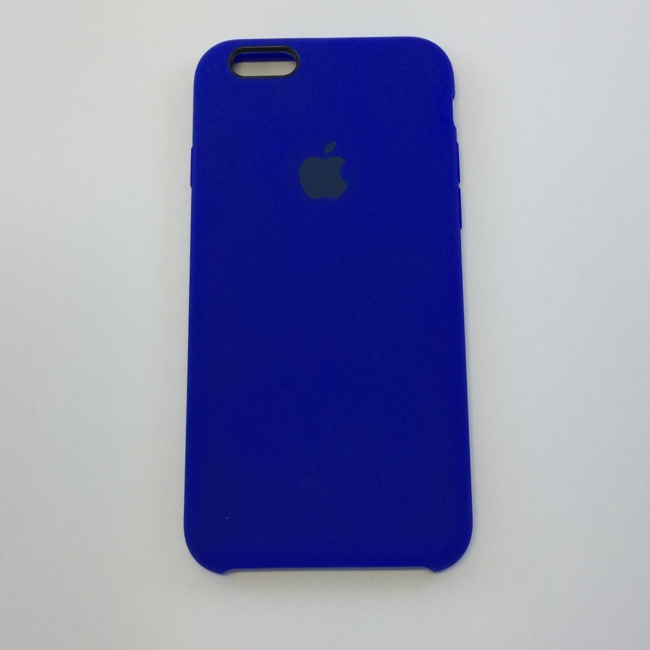 Силиконовый чехол OEM Silicon Case для iPhone 6/6s, электрик