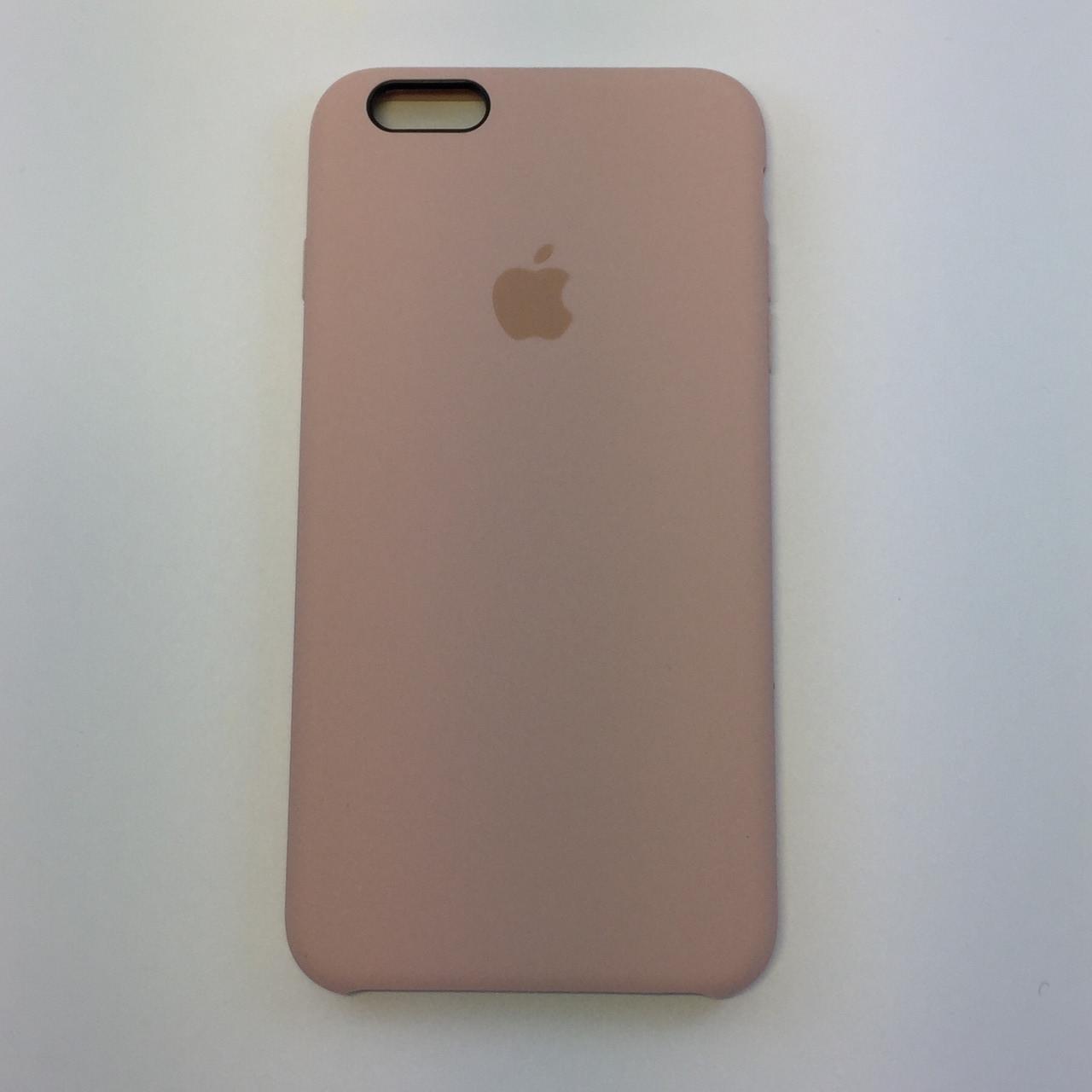 Силиконовый чехол iPhone 6 Plus / 6s Plus, пудра - pink send, copy original
