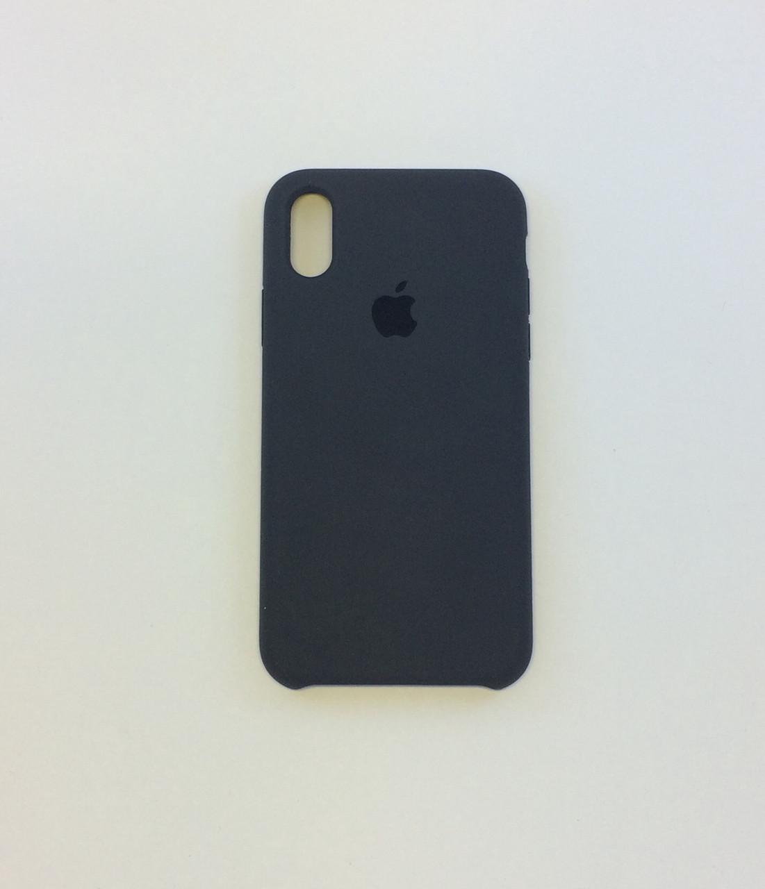 Силиконовый чехол iPhone X / Xs, мокрая галька, copy original