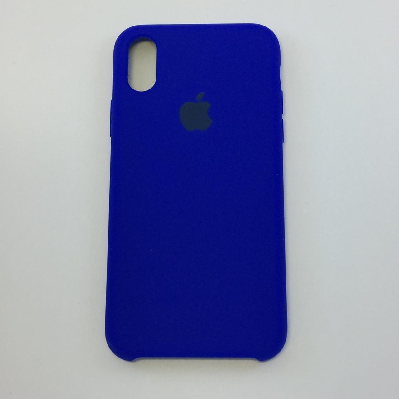 Силиконовый чехол iPhone X / Xs, электрик, copy original