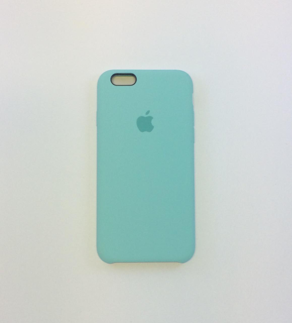 Силиконовый чехол iPhone 6/6s, зеленая лагуна, copy original