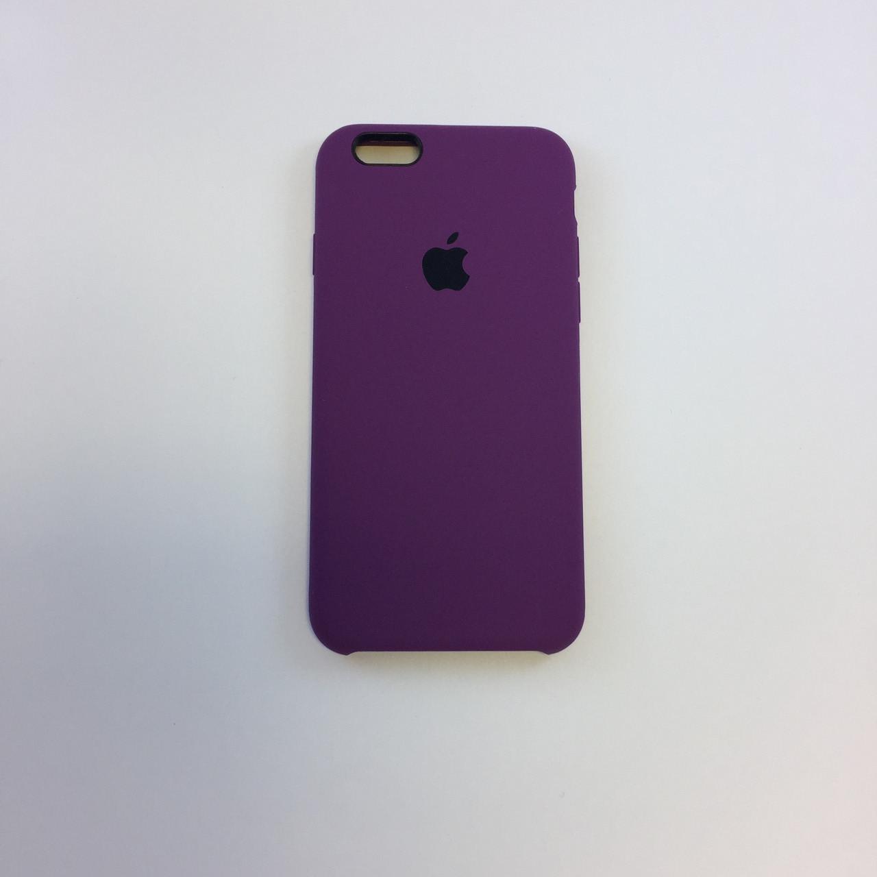 Силиконовый чехол iPhone 6/6s, пурпур, copy original