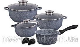 Набор посуды с мраморным покрытием 10 предметов Edenberg EB-8010