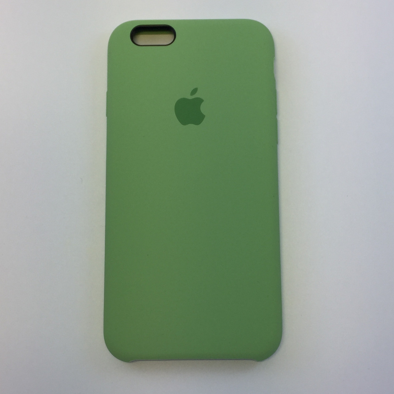 Силиконовый чехол iPhone 6 Plus / 6s Plus, фисташка, copy original