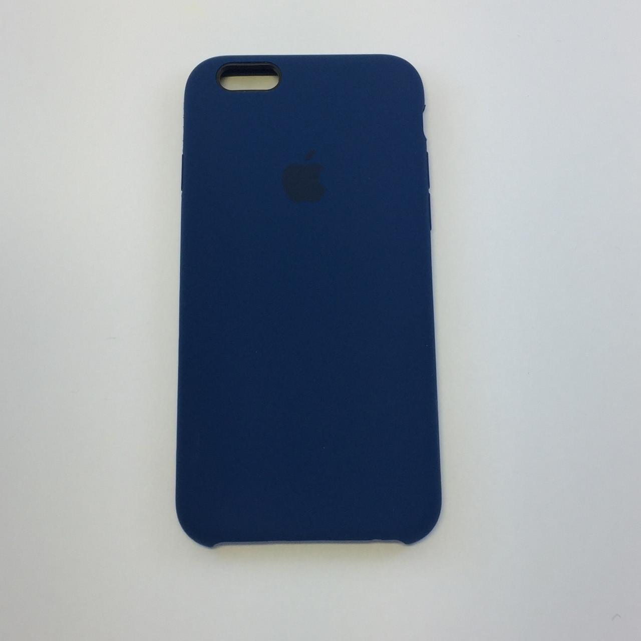 Силиконовый чехол iPhone 6 Plus / 6s Plus, оригинальный синий, copy original