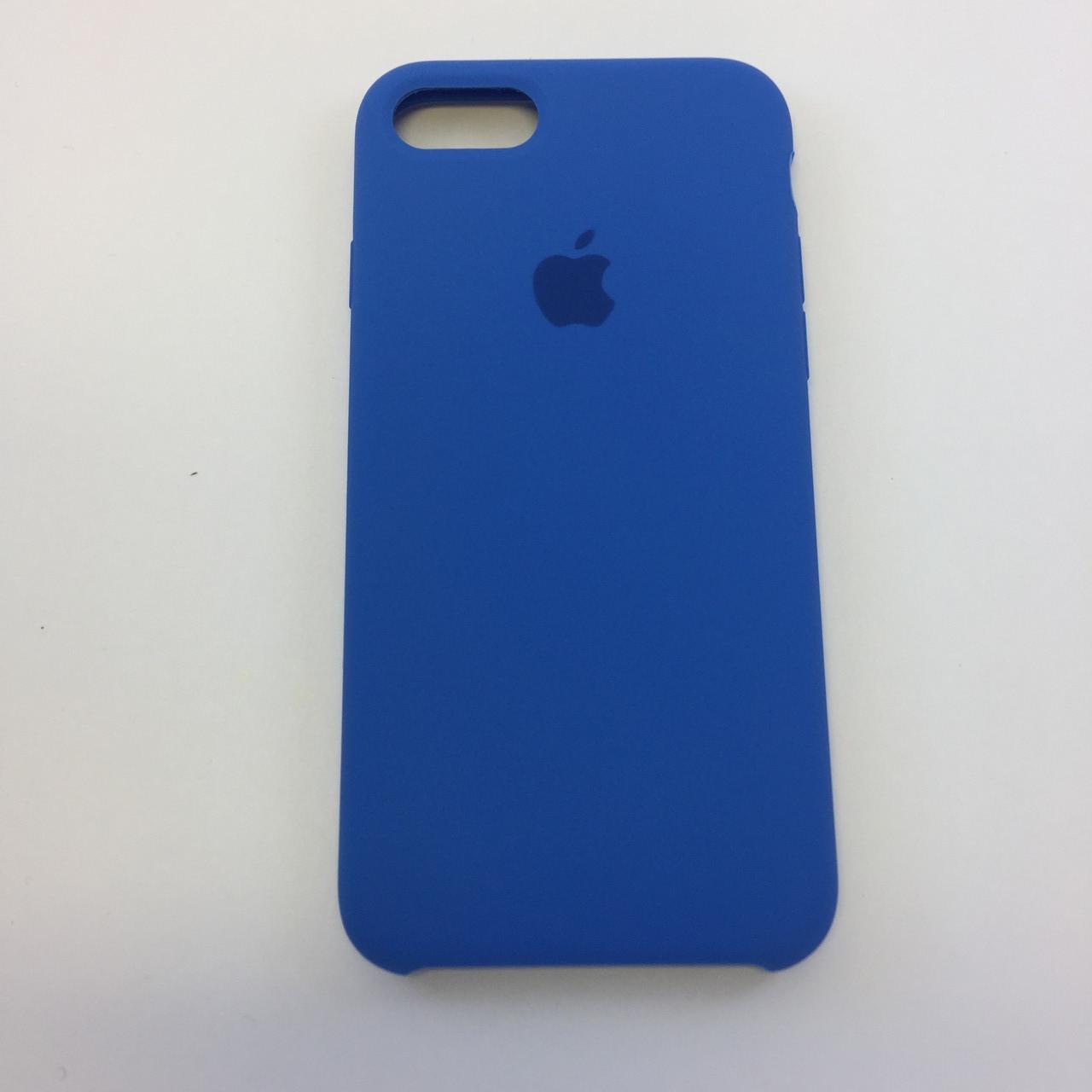 Силиконовый чехол iPhone 7, небесно синий, copy original