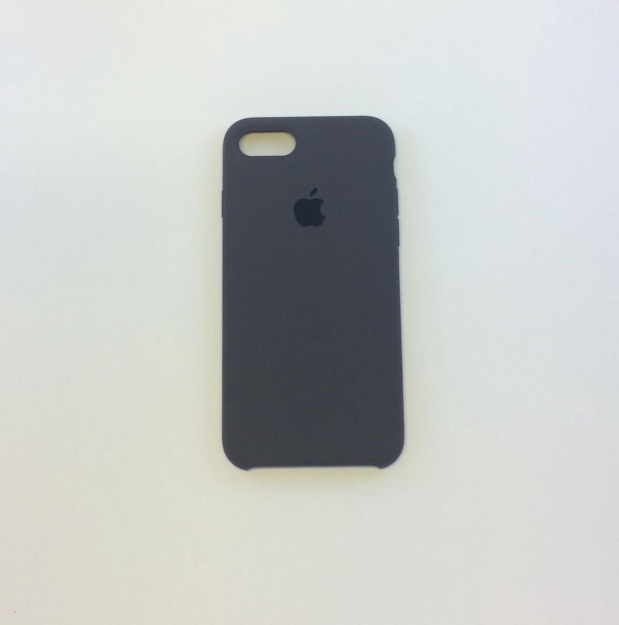 Силиконовый чехол iPhone 7, коричневый, copy original