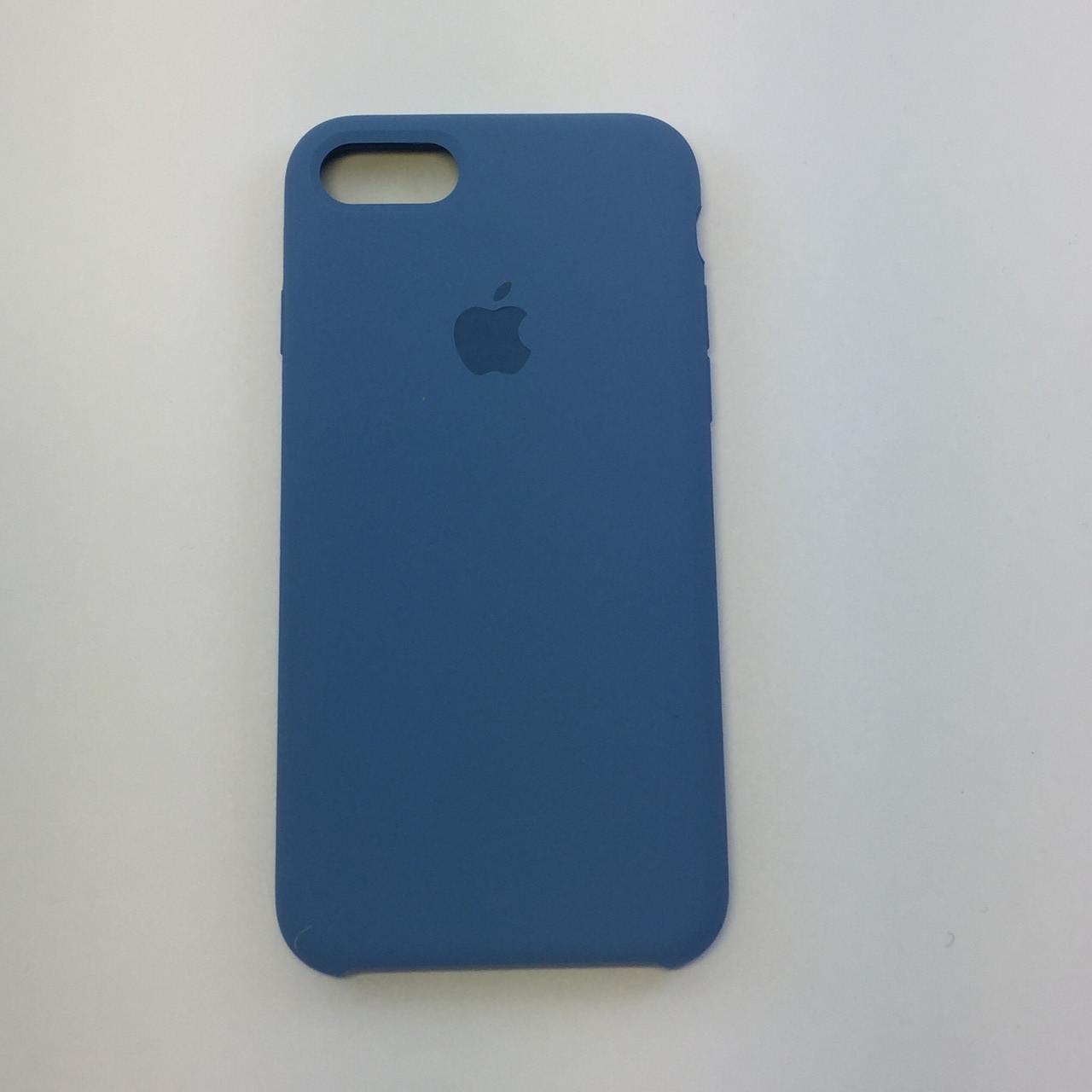 Силиконовый чехол iPhone 7, лазурь, copy original