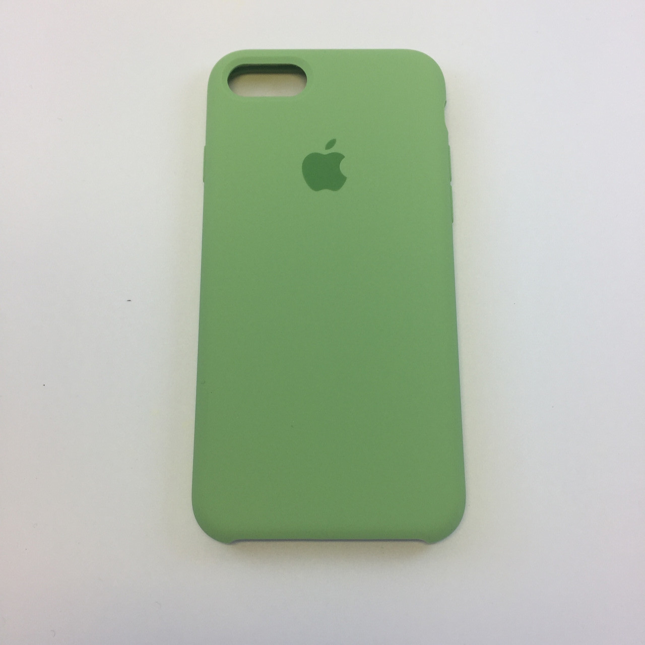Силиконовый чехол OEM Silicon Case для iPhone 7 Plus / 8 Plus, фисташка