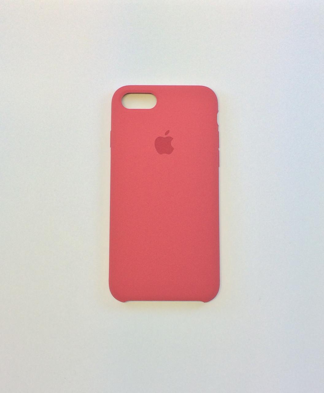 Силиконовый чехол OEM Silicon Case для iPhone 8 Plus, камелия