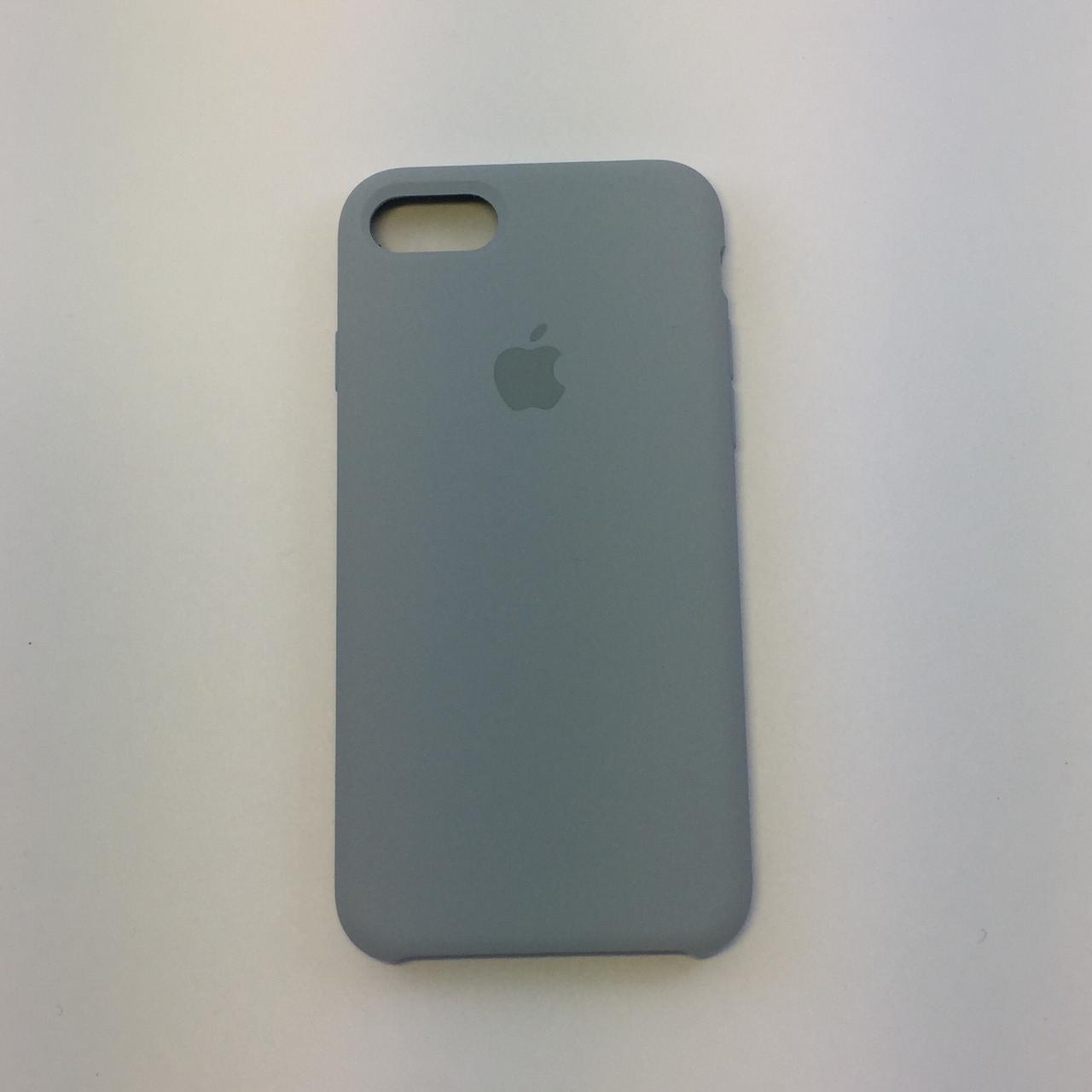 Силиконовый чехол iPhone 8 Plus, облако, copy original