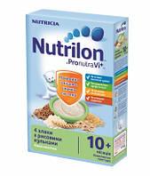 """Каша молочная Nutrilon """"4 злака c рисовыми шариками"""" нутрилон, 225 г,"""