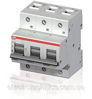 Автоматический выключатель ABB S803B-B80 (3п, 80A, Тип B, 16kA) 2CCS813001R0805