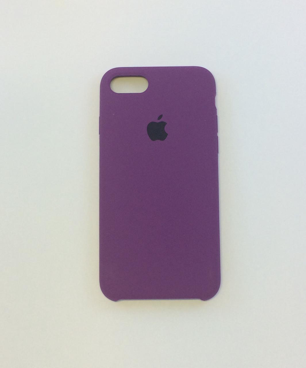 Силиконовый чехол iPhone 8 Plus, пурпурный, copy original