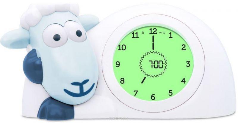 Нічник-годинник-тренер сну Zazu Ягня SAM, колір синій