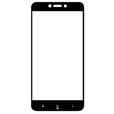 Защитное стекло 5D для Xiaomi MIX 2 - черный