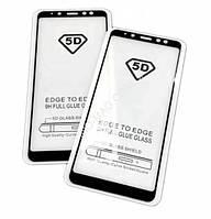 Защитное стекло 5D для Xiaomi Redmi 6A - черный