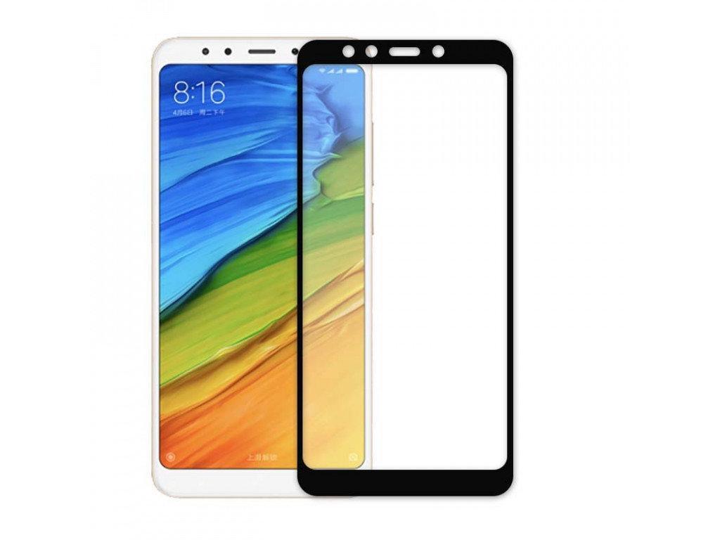 Защитное стекло 5D full glue для XIAOMI Redmi Note 5 - черный