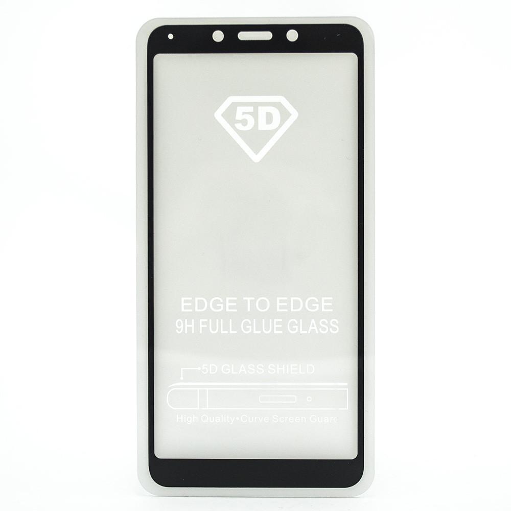 Защитное стекло 5D full glue для XIAOMI Redmi 6 - черный