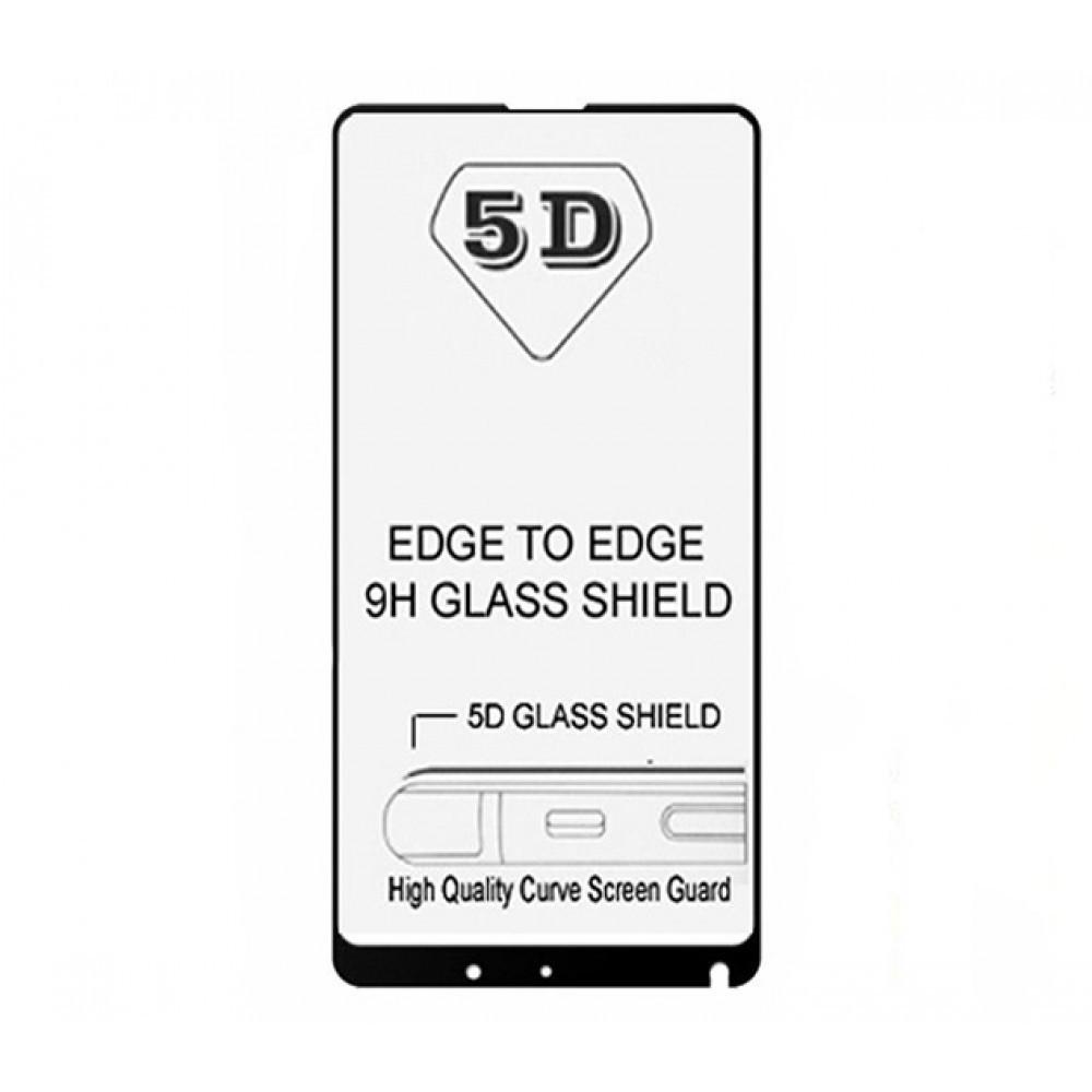 Защитное стекло 5D full glue для XIAOMI Mi MIX 2s - черный