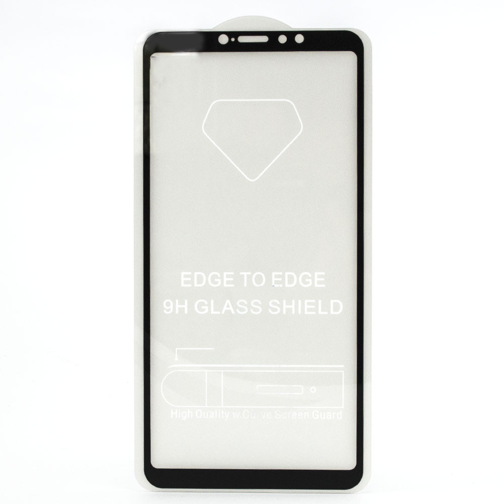 Защитное стекло 5D full glue для XIAOMI Mi MAX3 - черный
