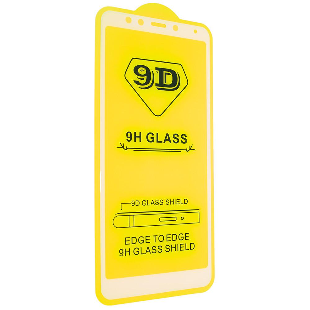 Защитное стекло 9D для Xiaomi Redmi 5 - белый