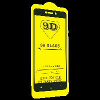 Защитное стекло 9D для Xiaomi Redmi 4A - черный