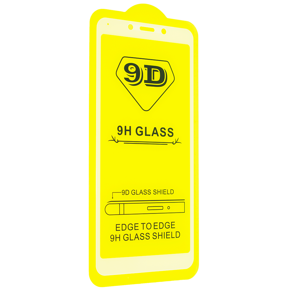 Защитное стекло 9D для Xiaomi Redmi 6A Белый