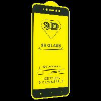 Защитное стекло 9D для Xiaomi Redmi Note 5A - черный