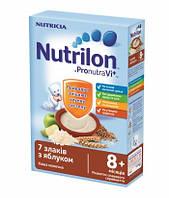 Каша молочная Nutrilon 7 злаков с яблоком нутрилон, 225 г,