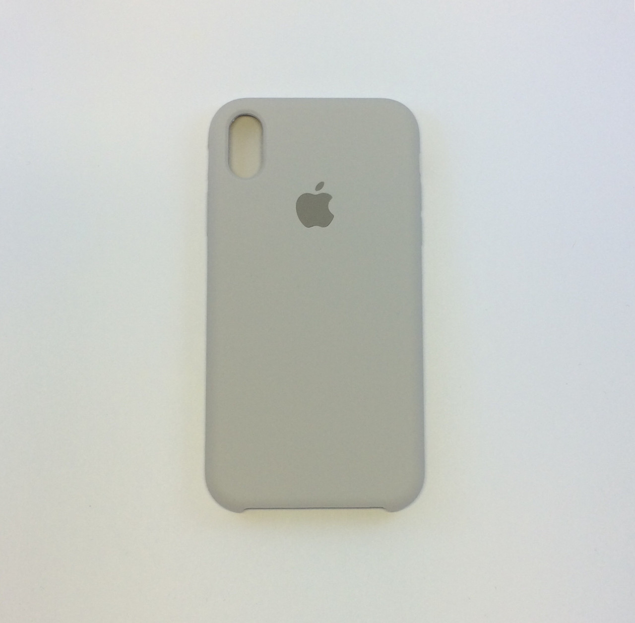 Силиконовый чехол iPhone Xs Max, белый камень, copy original