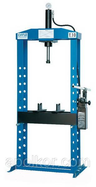 Пресс гидравлический напольный 10 т OМА 651B