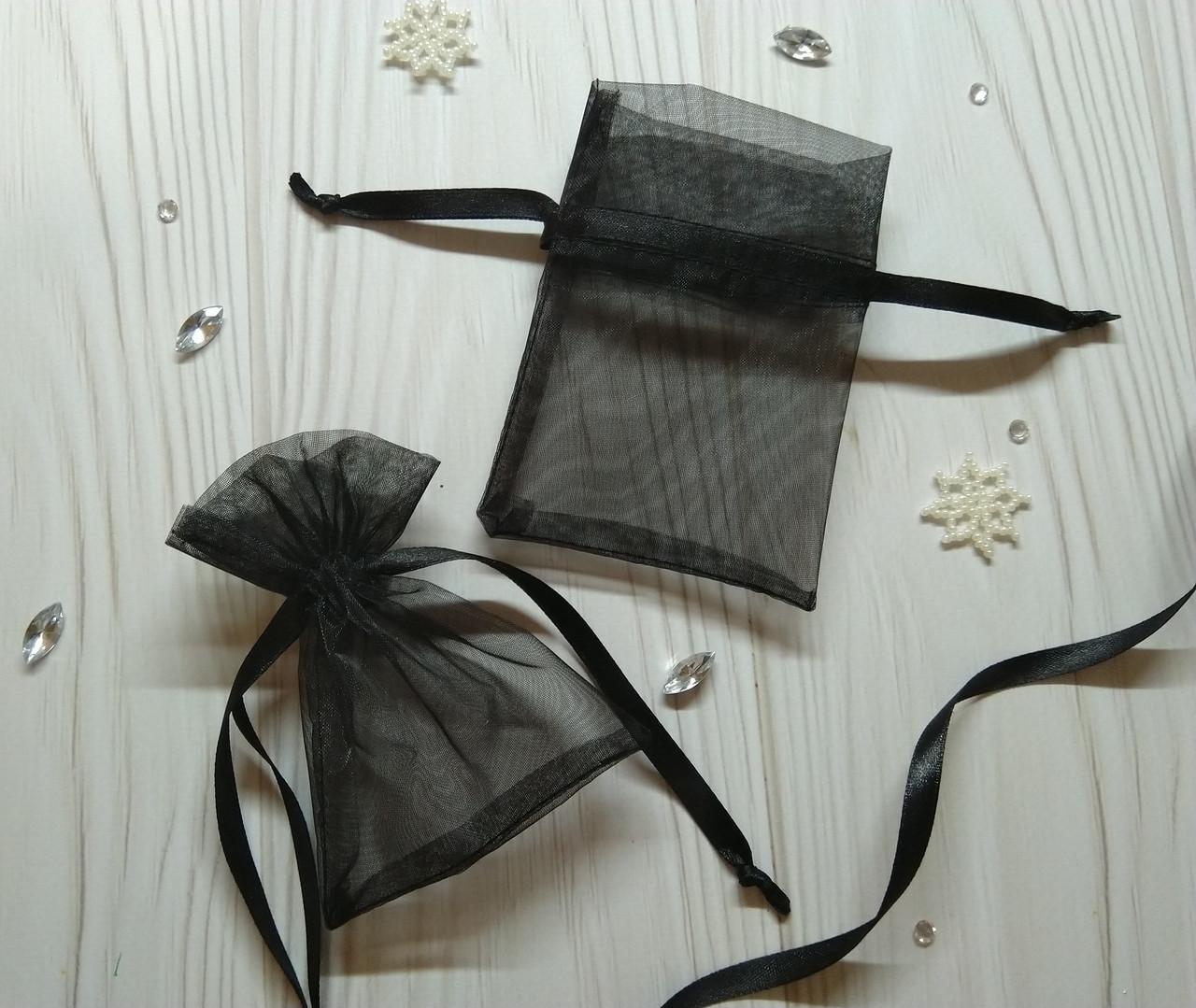 Подарочный мешочек из органзы 8 х 12 (Мешочек для упаковки подарка, подарочная упаковка)