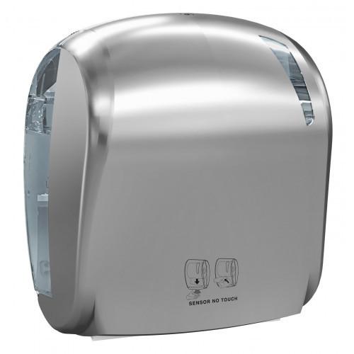 Автоматический держатель бумажных рулонных полотенец Mar Plast (Италия) PLUS