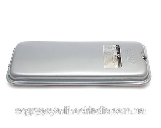Бак прямоуг.мембр.Zilmet 6 л, 492*200*70 мм, подкл.3/8G (без фир.уп, EU) котлов газовых и электро, к.з.0966